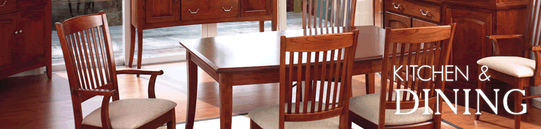 Amish Handcrafted Dining Furniture