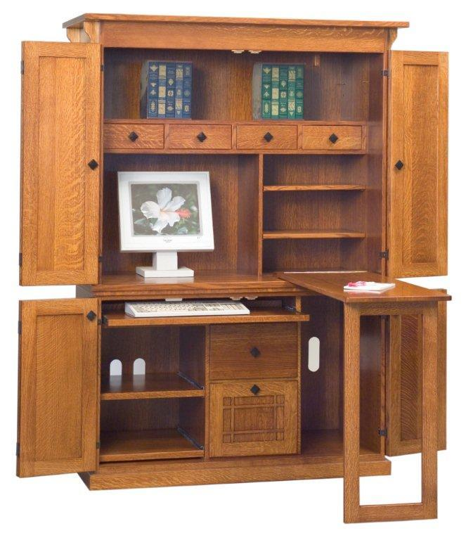 Computer Armoire Plans Pdf Woodworking