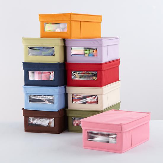 organize by box