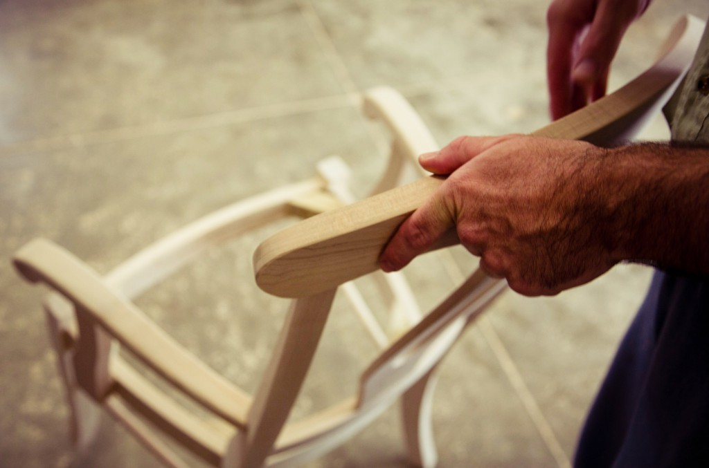 Yoder Dining chairs, handcrafted by dutchcrafters