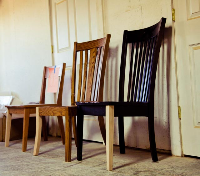 YODER Repairs dining chairs - dutchcrfaters amish furniture