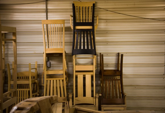 Yoder Stacked Chairs