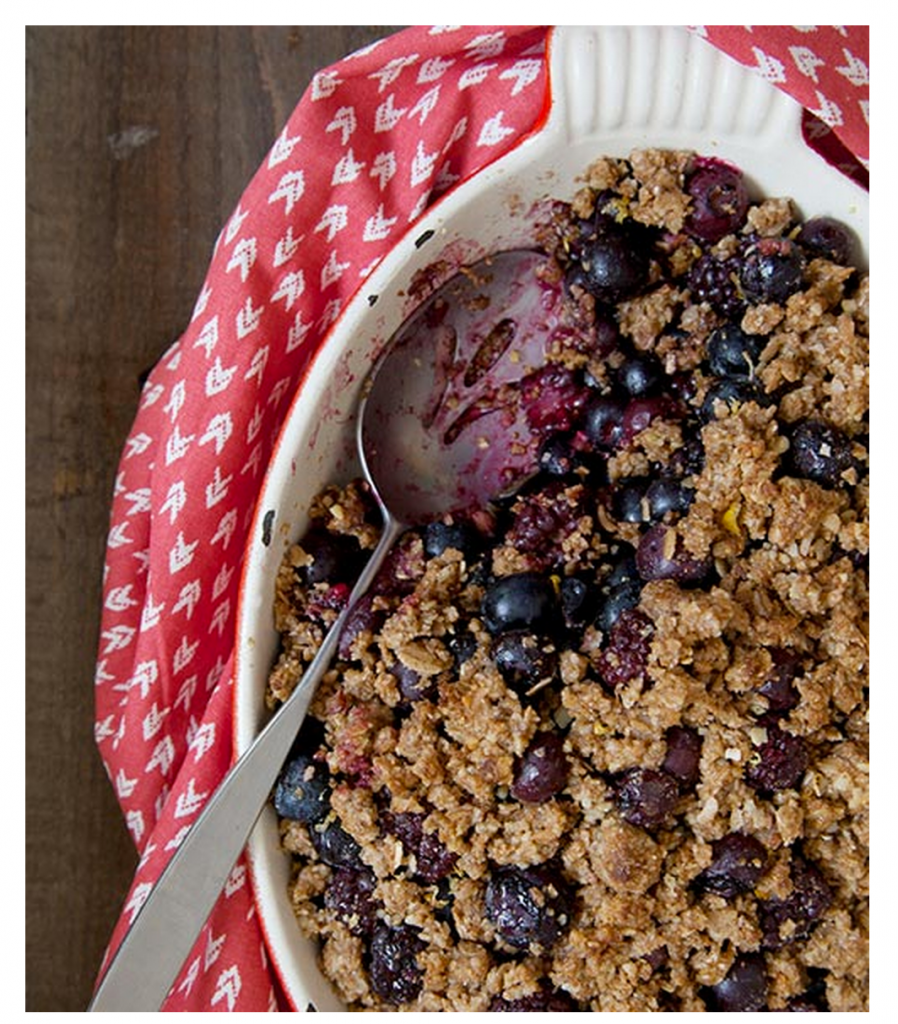 Big Berry Crumble