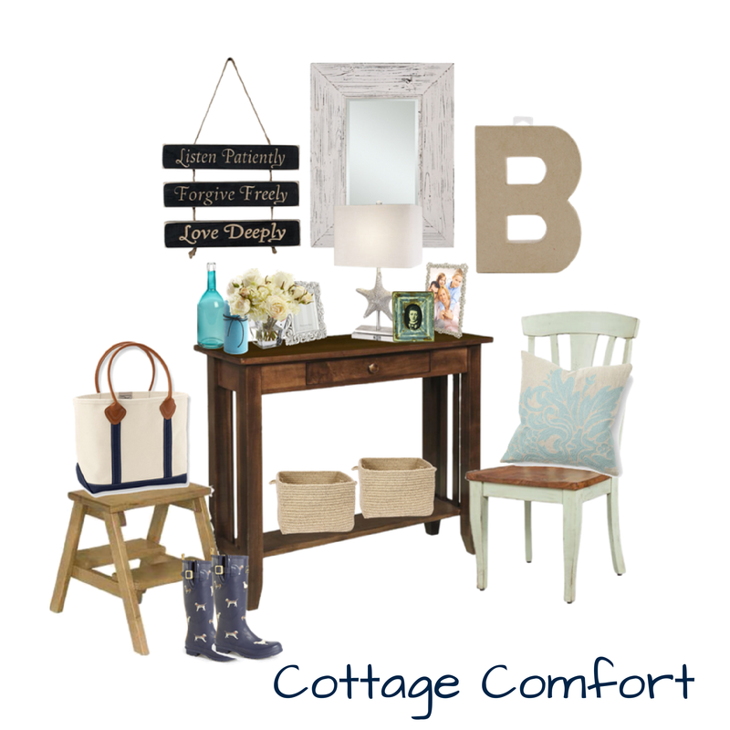 COTTAGE ENTRYWAY STYLE