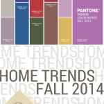 Pantone + DutchCrafters Home Trends Fall 2014