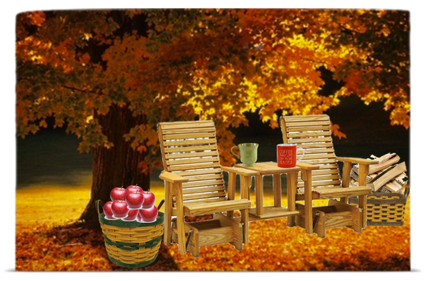Apple Picking with Dutchcrafters outdoor Furniture