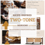Recipe-Inspired Two-Tone Beds