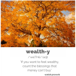 Amish Proverb About Wealth