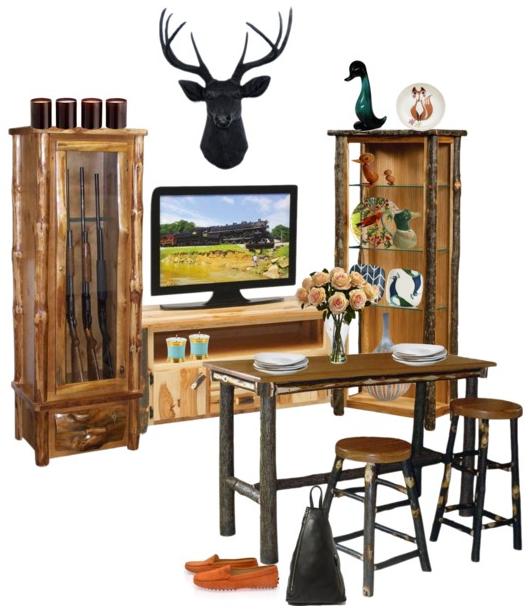 Gun Cabinet in a Cottage
