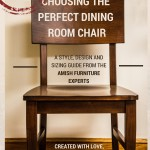 How To Choose the Right Dining Room Chair Size