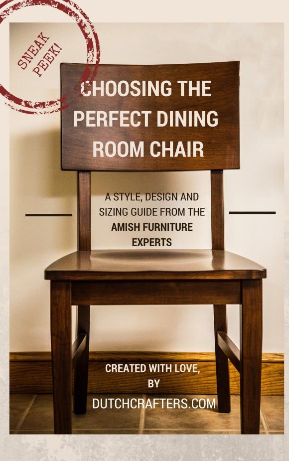 Choosing a dining room chair