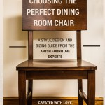 DutchCrafters' Ultimate Guide to Choosing the Perfect Dining Room Chair!