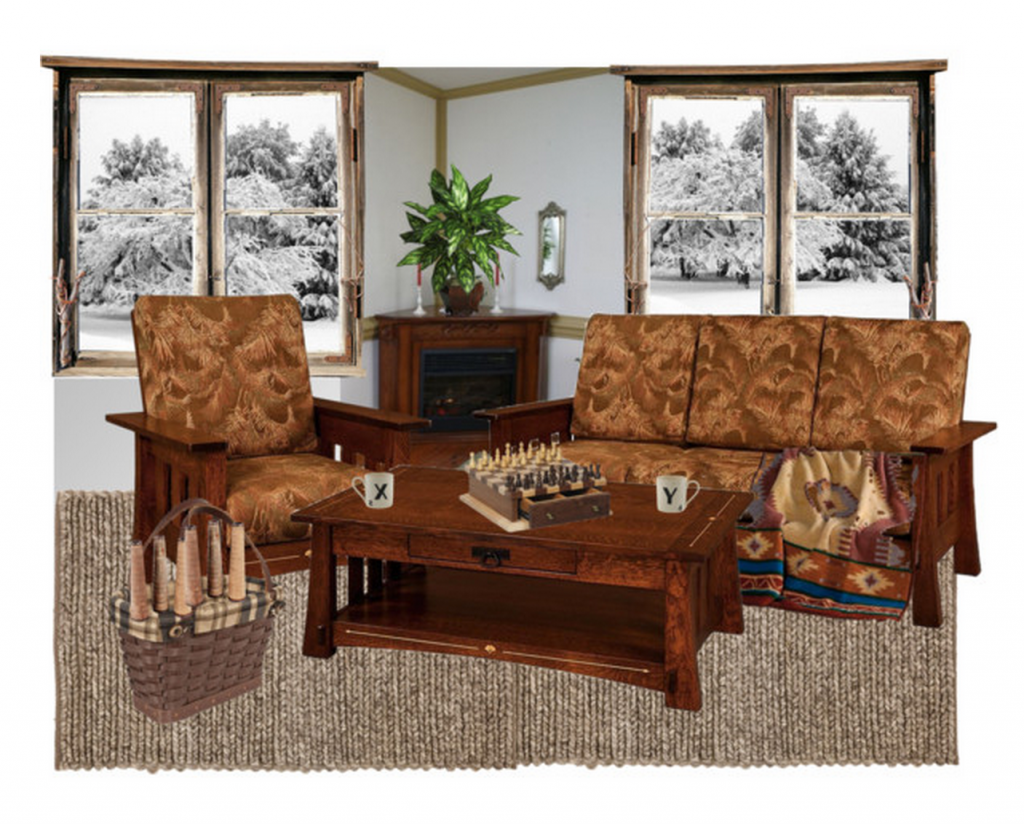 How to Choose Cozy Living Room Furniture - A Winter's Guide by DutchCrafters