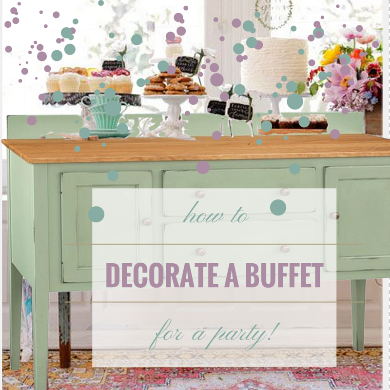 How To Decorate A Dining Room Buffet TIMBER TO TABLE