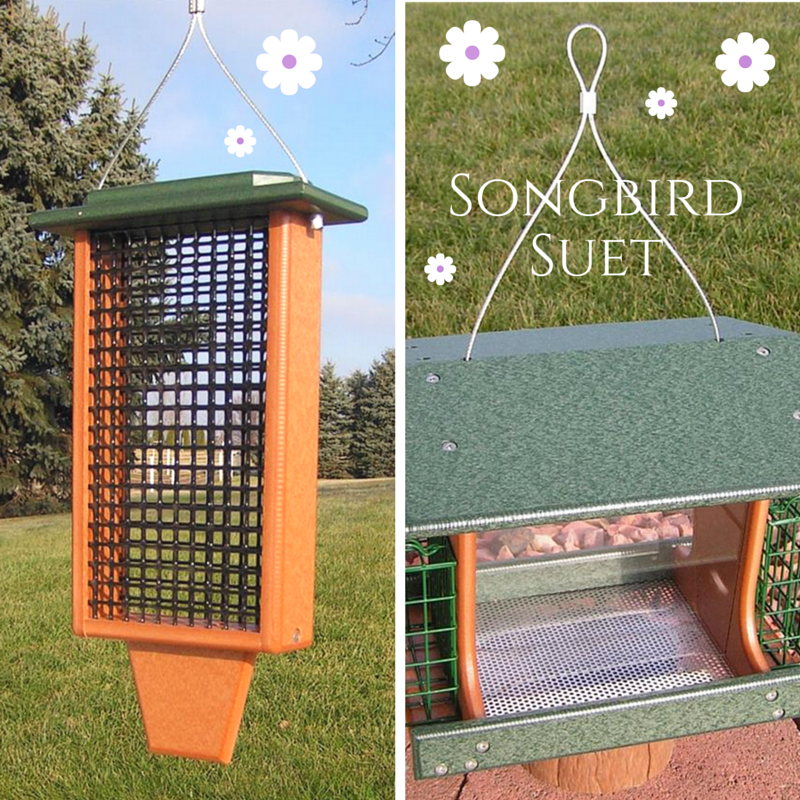 Songbird Suet Recipe foru our Poly Deluxe and Poly Double bird feeders