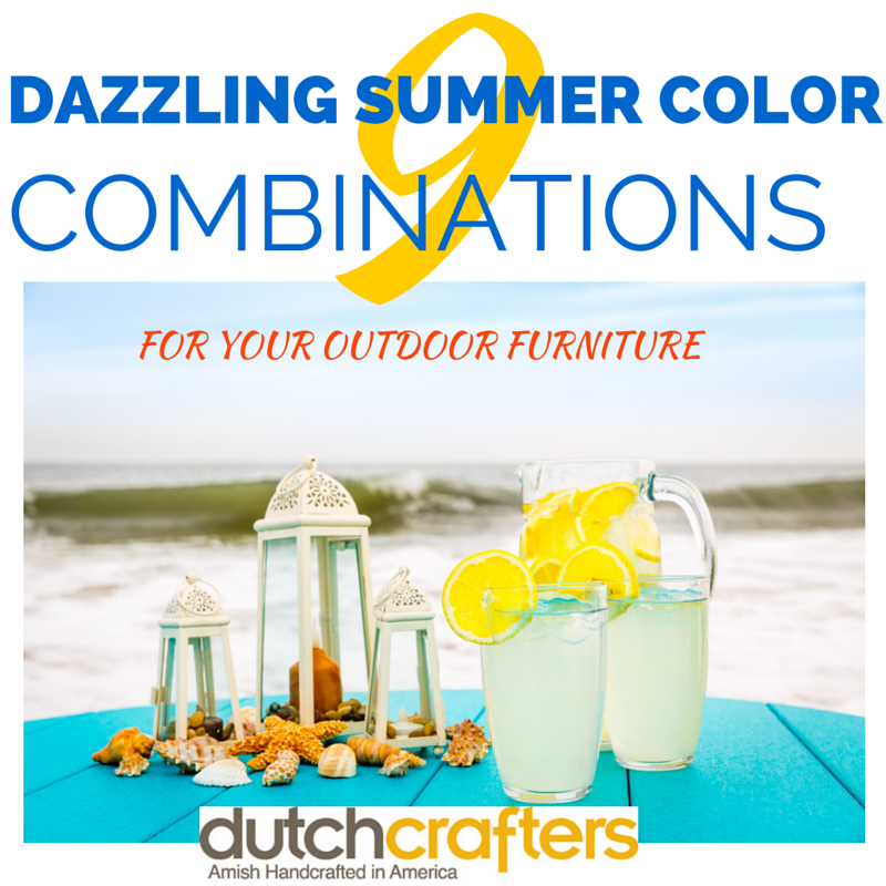 DAZZLING SUMMER COLOR COMBINATIONS! by DutchCrafters