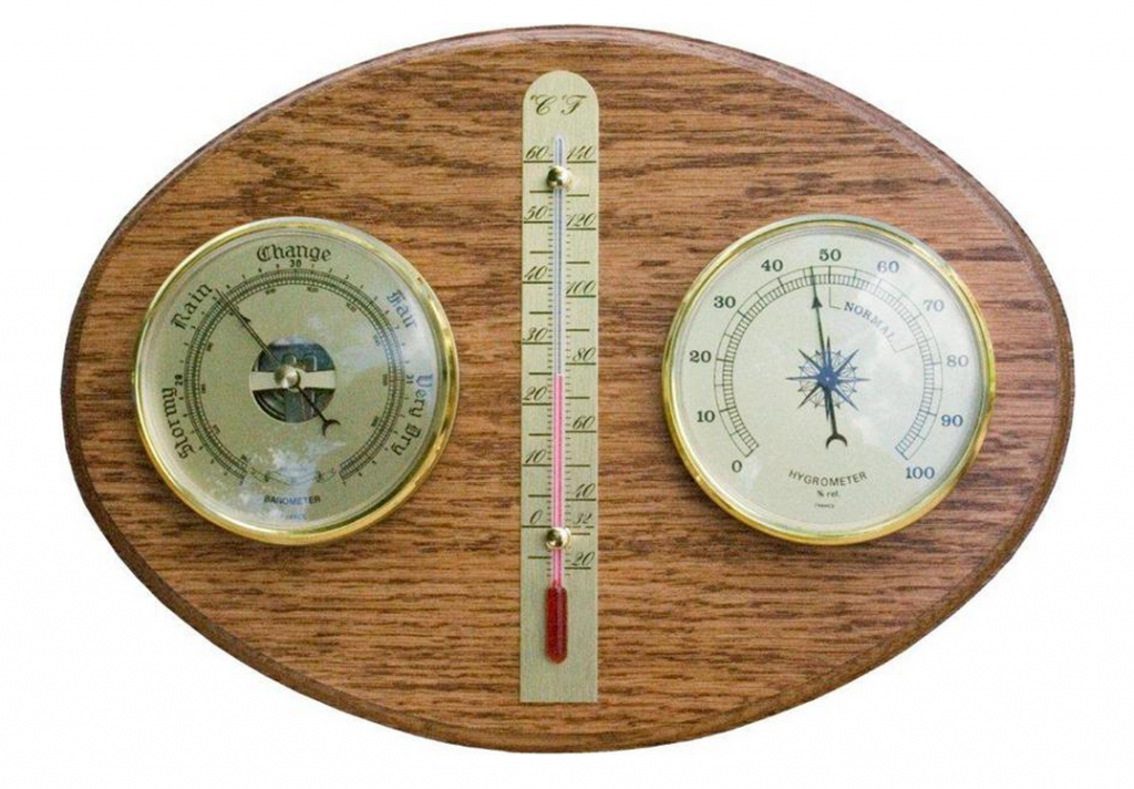 Amish Hardwood Weather Station