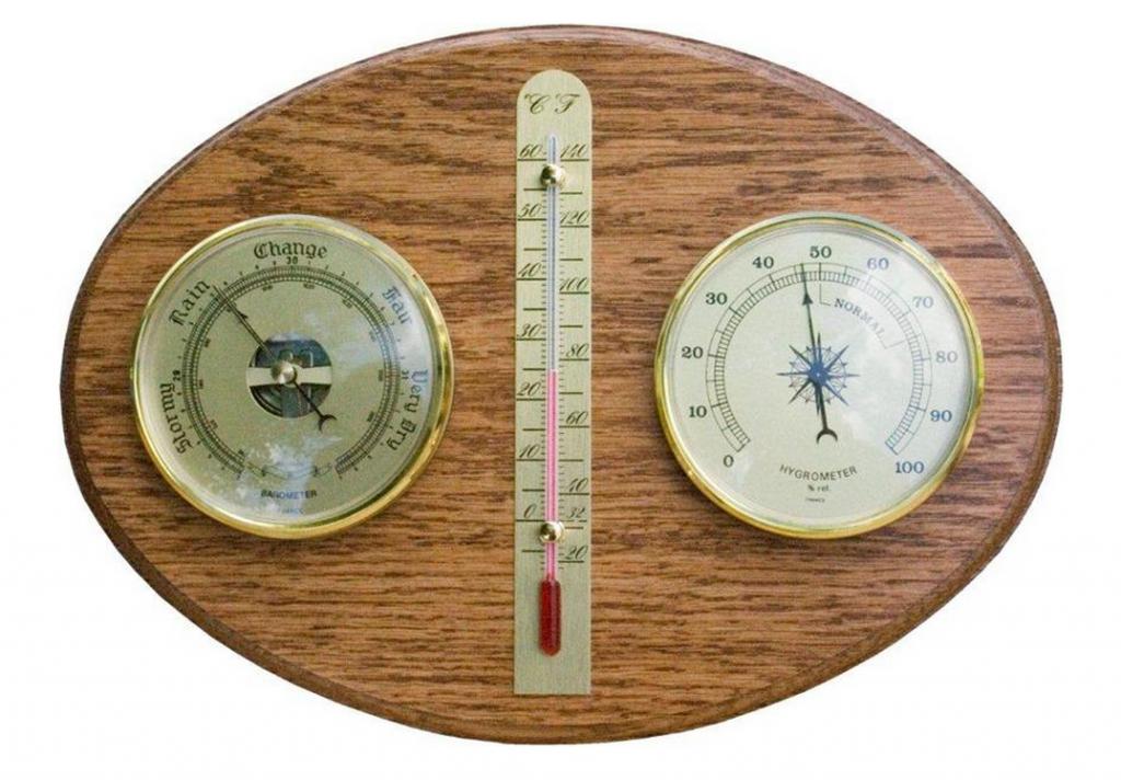Amish Hardwood Weather Station