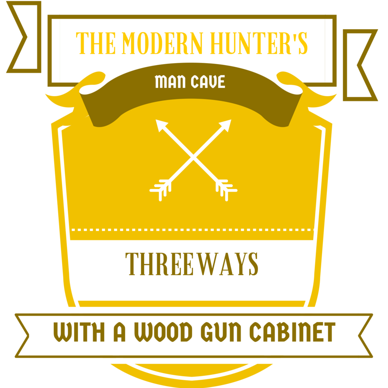 The Modern Hunter's Man Cave - Three Ways With a Wood Gun Cabinet by DutchCrafters