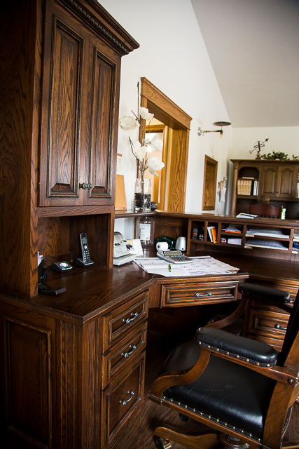 Meet the Amish Furniture Maker: Luxury Office Furniture Collection
