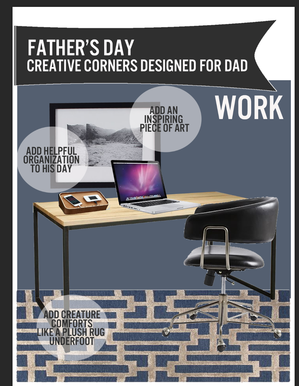 Father's Day Gift - Creative Corners  Designed for Dad for WORK by DutchCrafters