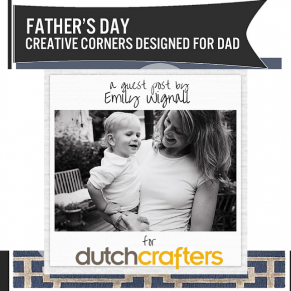 Father's Day Gift - Creative Corners  Designed for Dad by DutchCrafters