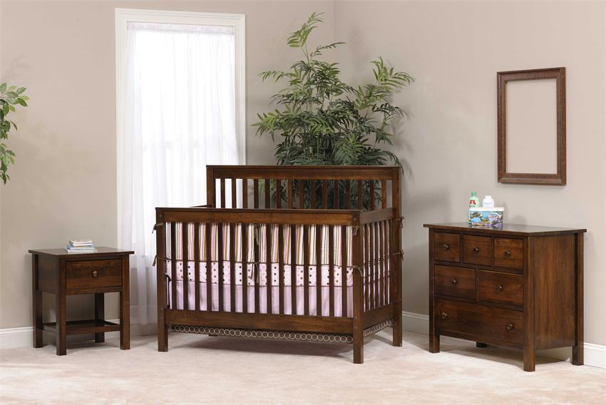 The Amish Family Values Nursery Furniture Set by DutchCrafters
