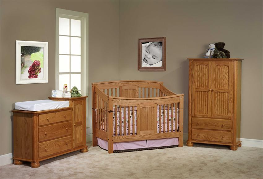 The Charlotte Elizabeth Nursery Furniture Set by DutchCrafters