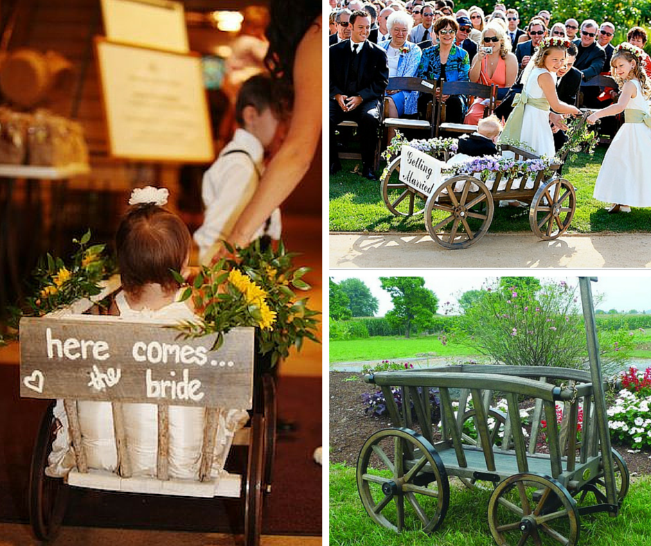 Don't Miss this Wedding Season Trend: The Wedding Wagon!: Tradiitonal