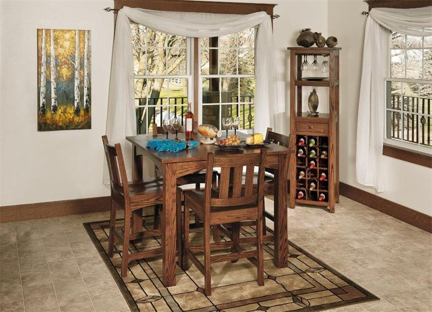 3 Ways With A Wine Rack: Wine Rack #3: Debonair Dining Room Attendant