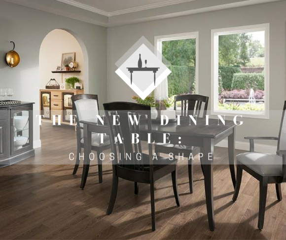 The New Dining Table: What Dining Table Shape Do I Need