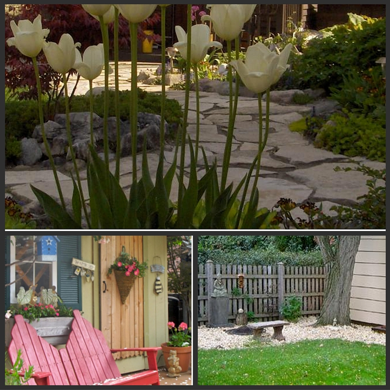 The Big List of Shed Landscape Ideas: Make a Path, or add a Bench!