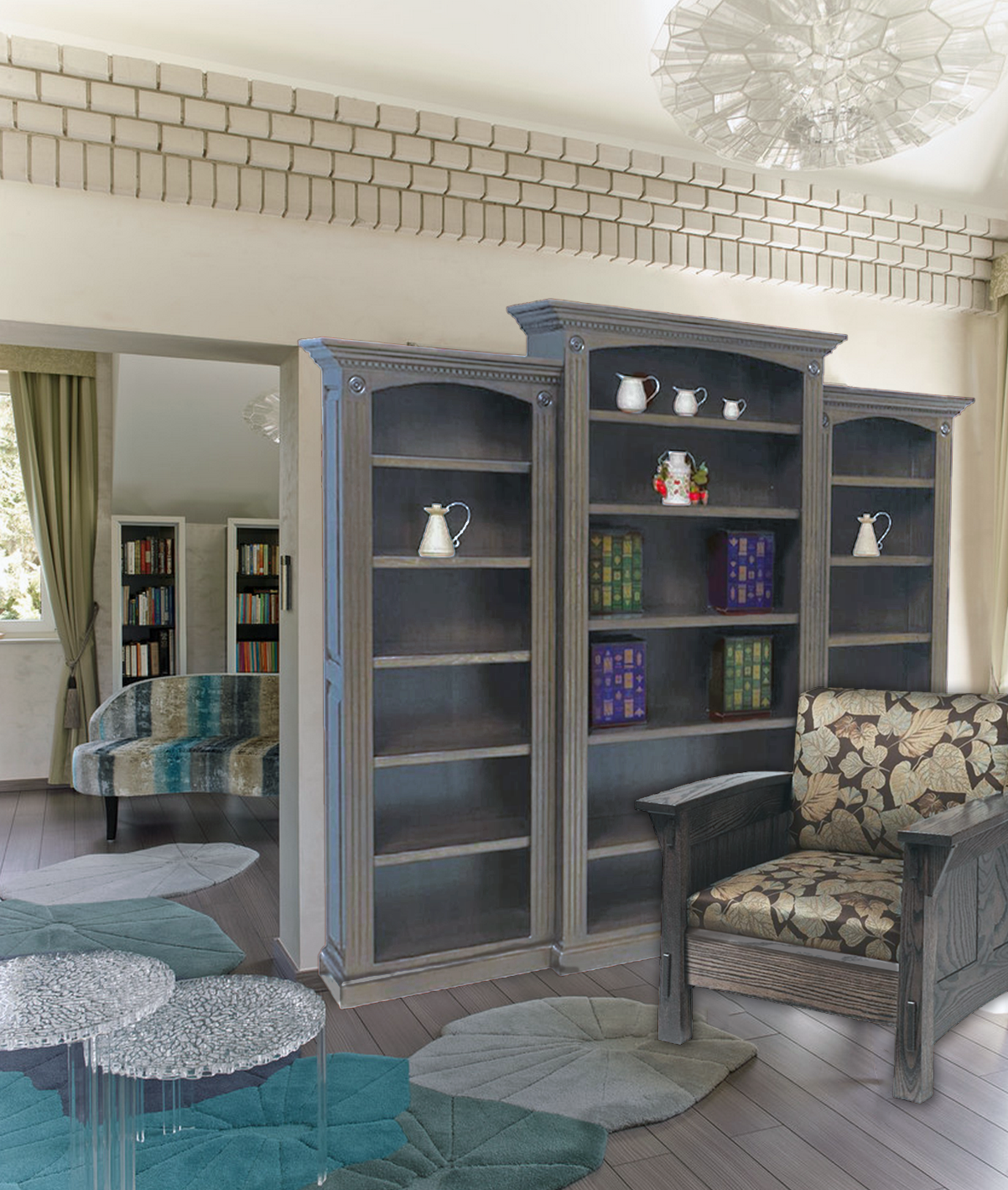 Reading Nook Furniture for the Gallerina Muse with the guest list