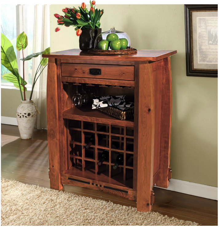 The Colebrook Wine Cabinet for Wine & Cheese parties