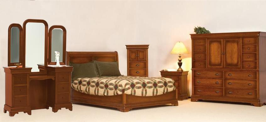 Amish LE Chateau Customer Bedroom Set