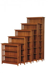Amish-Fairfield-Bookcase-with-Doors