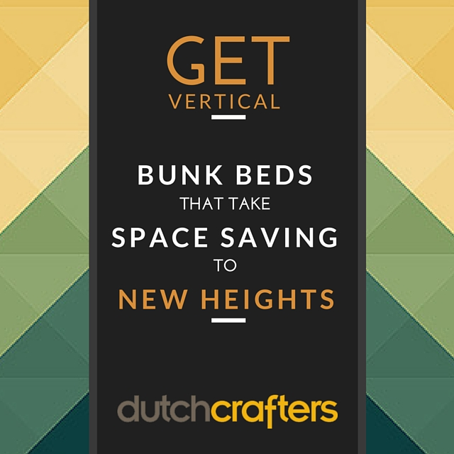 Get Vertical: Bunk Beds that Take Space Saving to New Heights