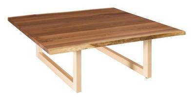 Amish Kalispel Large Live Edge Coffee Table