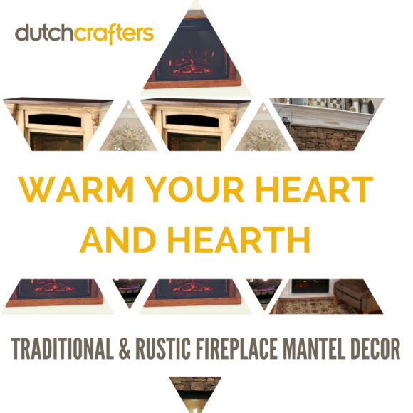 True stunners in any room, we have some suggestions that'll turn up the heat on your fireplace mantel (s), whether traditional or rustic.