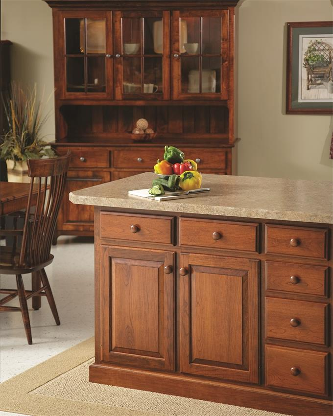 Deluxe Kitchen Island by DutchCrafters