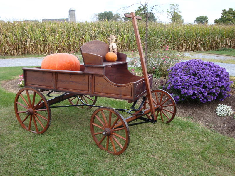 Amish-Old-Fashioned-Buckboard-Wagon-Jumbo--90