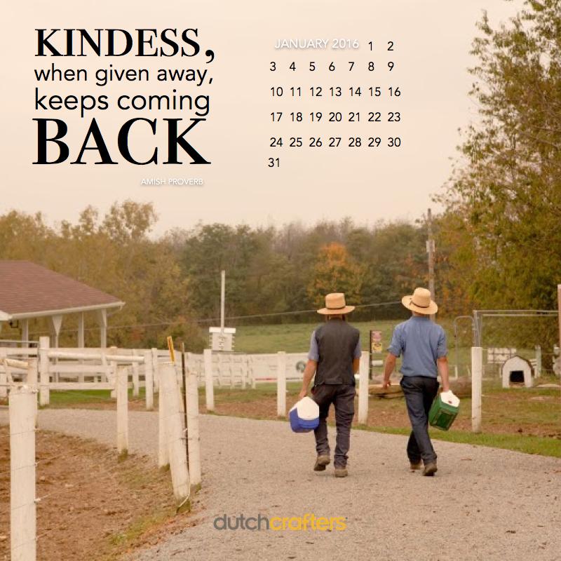 Inspirational Calendar Wallpaper: January 2016