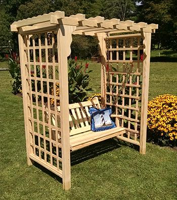 American Made Lexington Outdoor Arbor