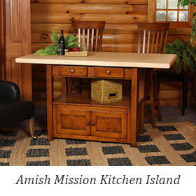 Amish Mission Kitchen Island