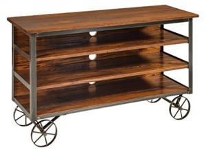 Modern Industrial Reclaimed TV Stand