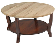 Amish Newport Chairside Tableclone