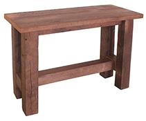 Grove Reclaimed Barn Wood Sofa Table