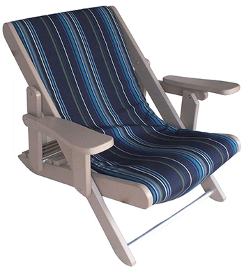 Folding Poly Adirondack Sling Chair