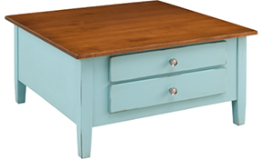 Amish Living Room Classic Shaker Square Coffee Table