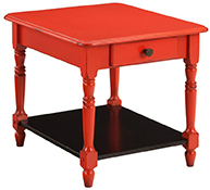 Amish Living Room Springfield End Table